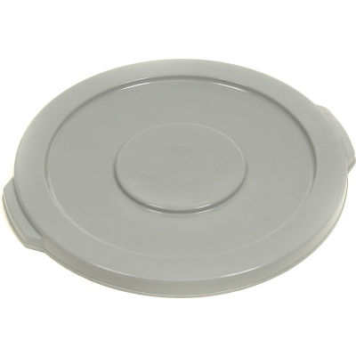 Global Industrial™ Plastic Trash Can Lid - 10 Gallon Gray