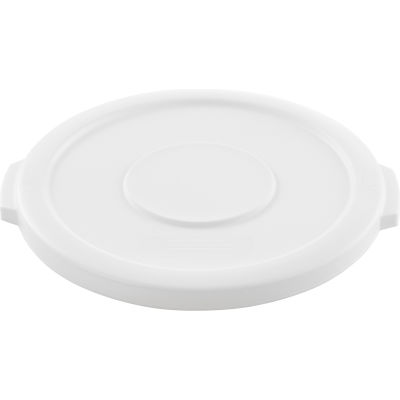 Global Industrial™ Plastic Trash Can Lid - 10 Gallon White