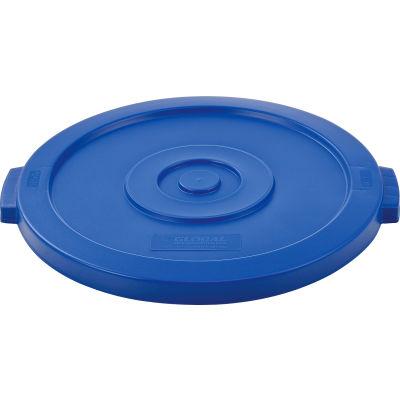 Global Industrial™ Plastic Trash Can Lid - 20 Gallon Blue