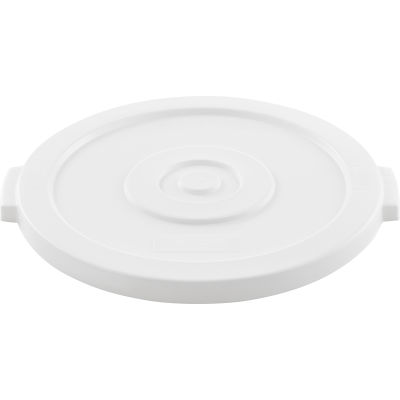 Global Industrial™ Plastic Trash Can Lid - 20 Gallon White