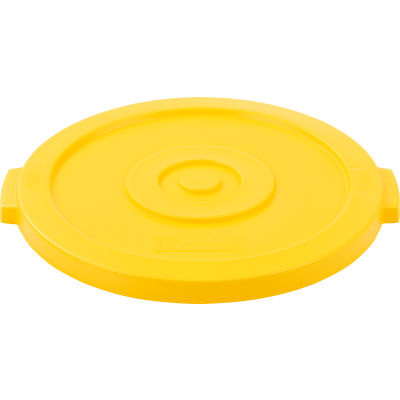 Global Industrial™ Plastic Trash Can Lid - 20 Gallon Yellow