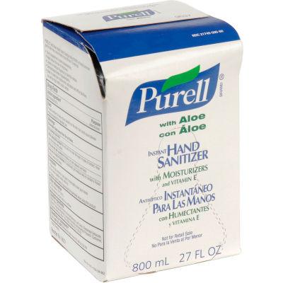 Purell Bag-In-Box Hand Sanitizer Aloe Formula Refill - 12 Refills/Case 9637-12