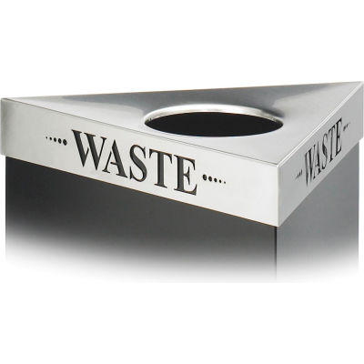 Safco® Triangular Lid, Waste - 9560WA