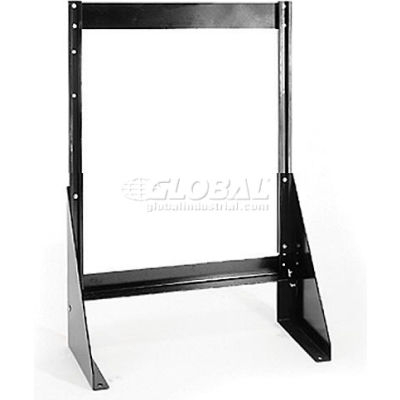 """Quantum Single Sided Floor Stand QFS124 for Tip Out Bins - 24""""H"""