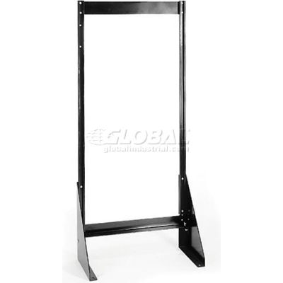 """Quantum Single Sided Floor Stand QFS148 for Tip Out Bins - 48""""H"""