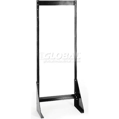 "Quantum Single Sided Floor Stand QFS170 for Tip Out Bins - 70""H"