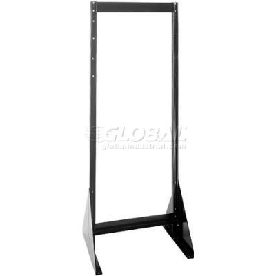 """Quantum Doubled Sided Floor Stand QFS270 for Tip Out Bins - 70""""H"""