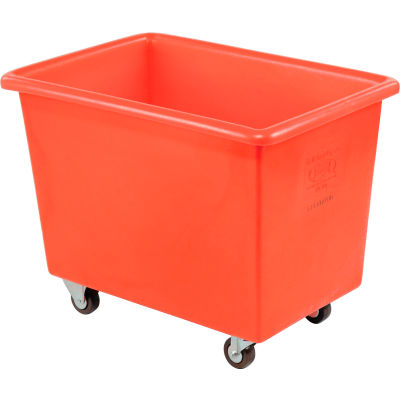 Dandux Red Plastic Box Truck 51126006R-3S 6 Bushel Medium Duty