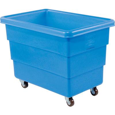 Dandux Blue Plastic Box Truck 51126008U-3S 8 Bushel Medium Duty