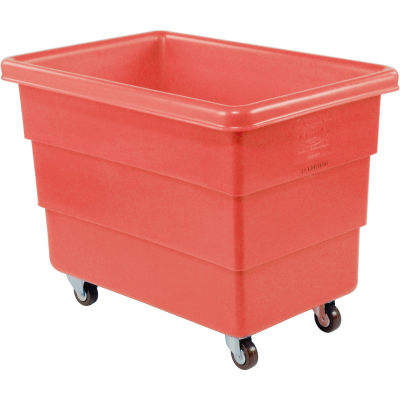 Dandux Red Plastic Box Truck 51126008R-3S 8 Bushel Medium Duty