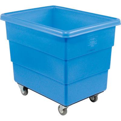 Dandux Blue Plastic Box Truck 51126016U-3S 16 Bushel Medium Duty