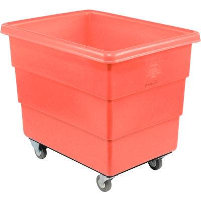 Dandux Red Plastic Box Truck 51126020R-3S 20 Bushel Medium Duty