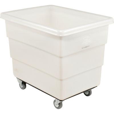 Dandux White Plastic Box Truck 51126018N-3S 18 Bushel Medium Duty