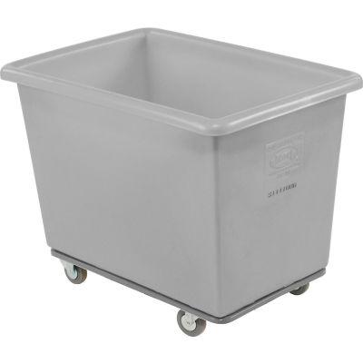 Dandux Gray Plastic Box Truck 51116006A-3S 6 Bushel Heavy Duty