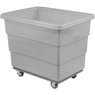 Dandux Gray Plastic Box Truck 51-116010A-3S 10 Bushel Heavy Duty