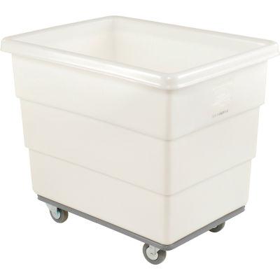 Dandux White Plastic Box Truck 51-116008N-3 8 Bushel Heavy Duty