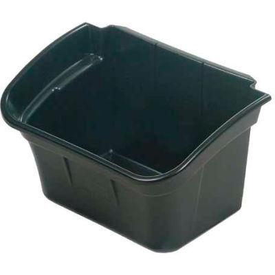 Rubbermaid® Utility Bin, 4 Gallon, Black