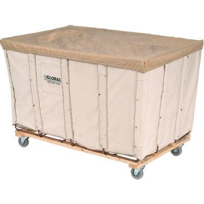 Global Industrial™ Basket Bulk Truck, Canvas, 20 Bushel Capacity