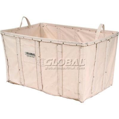 Global Industrial™ Replacement Liner for Best Value 8 Bushel Canvas Basket Bulk Truck