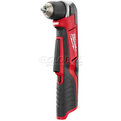 "Milwaukee 2415-20 M12 Cordless Li-Ion 3/8"" Right Angle Drill/Driver (Bare Tool Only)"