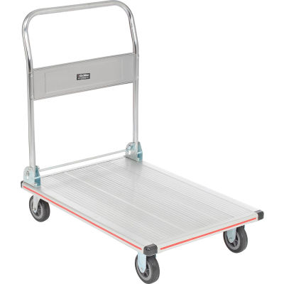 Global Industrial™ Folding Aluminum Platform Truck 36 x 24 600 Lb. Capacity