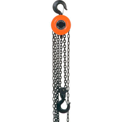 Global Industrial™ Manual Chain Hoist, 20' Lift, 4,000 Lb. Capacity