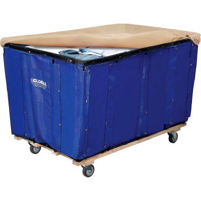 Global Industrial™ Replacement Liner for Best Value 20 Bushel Blue Vinyl Basket Bulk Truck
