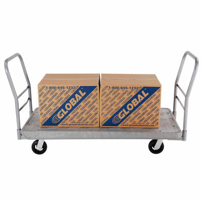 Global Industrial™ Additional Handle for 60 x 30 Structural Foam Plastic Deck Platform Trucks