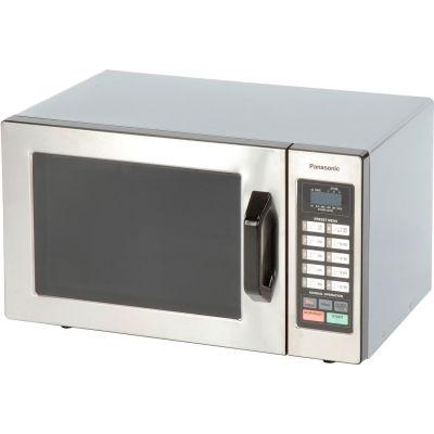 Panasonic® NE-1054F, Microwave Oven, 0.8 Cu. Ft., 1000 Watt, Keypad Control