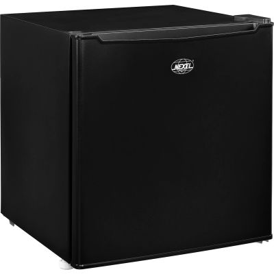 Nexel® Mini Refrigerator/Freezer, Black, 1.7 Cu. Ft.