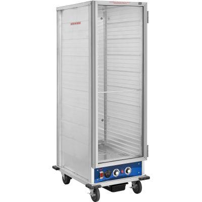 """Nexel® HC1836HP, Heater/Proofer Non-Insulated, Holds 36 18""""x26"""" Pans, Lexan Door"""