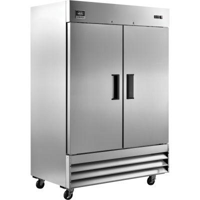"""Nexel® Reach-in Refrigerator, 2 Door, 54""""Wx32-1/4""""Dx82-1/2""""H, 47 Cu. Ft."""