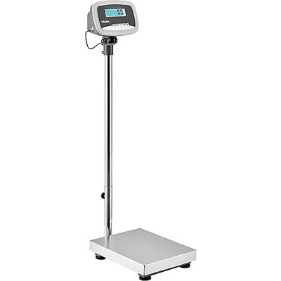 Global Industrial™ Industrial Bench & Floor Scale With LCD Indicator, 330 lb x 0.1 lb
