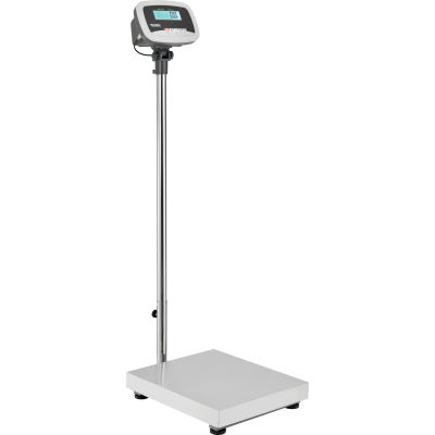 Global Industrial™ Industrial Bench & Floor Scale With LCD Indicator, 660 lb x 0.25 lb