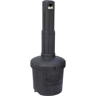 Global Industrial™ Black Outdoor Ashtray - 5 Gallon