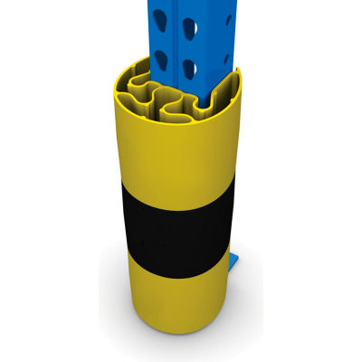 "Protect-It Rack Guard 3"" X 3"" Yellow - Pkg Qty 3"