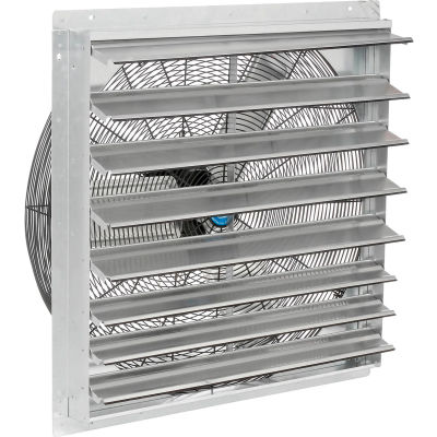 """CD® 30"""" Direct Drive Exhaust Fan With Shutter, 1/4 HP, 2 Speed"""