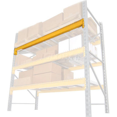 "Husky Rack & Wire Lynx/Double Slotted Pallet Rack Beam - 120""L, 4,828 Lb Cap/Pr (2 pcs)"