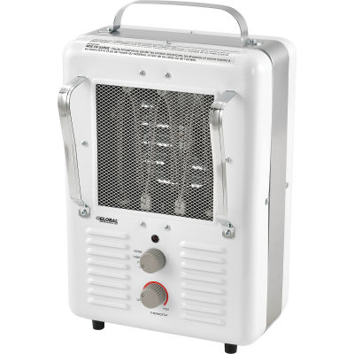 Global Industrial® Portable Electric Heater Milkhouse 1500W Steel