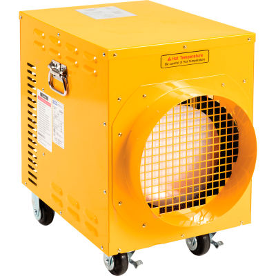 Global Industrial™ 10.2 KW Portable Electric Heater, 240V, Single Phase