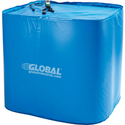 Global Industrial™ Insulated Tote Heater For 275 Gallon IBC Tote, Up To 145°F, 120V