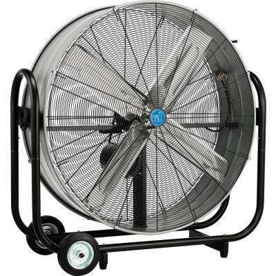 "CD® 42"" Tilt Drum Blower Fan - Portable - Belt Drive - 13400 CFM - 1/2 HP"