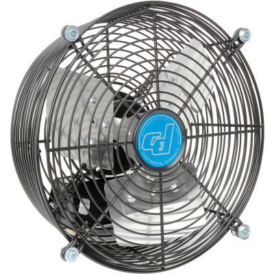 """10"""" Exhaust Fan - Guard Mount - Direct Drive - 1/30 HP - 3 Speed"""