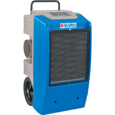 Global Industrial™ LGR Dehumidifier Low-Grain Refrigerant, 250 Pints Day Water Pump