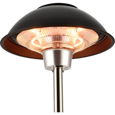 Global Industrial™ Patio Heater With Table, Halogen Lamp, Free Standing, 1500W