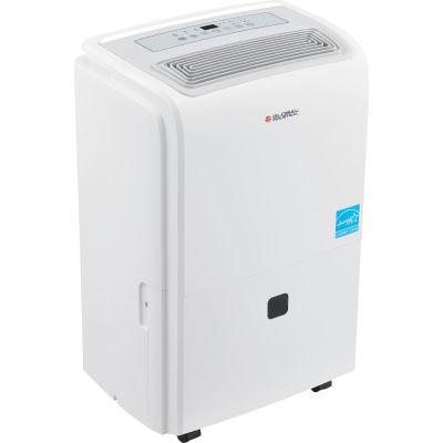 Global Industrial™ Portable Dehumidifier W/ Pump & WiFi, Energy Star, 40 Pint
