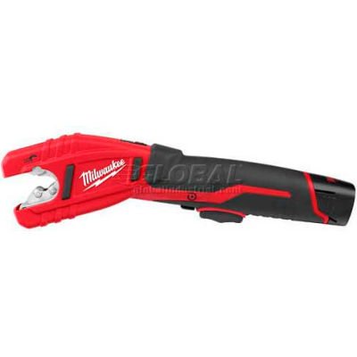 "Milwaukee® 2471-21  Cordless M12 Lithium-Ion Copper Tubing Cutter Kit, 1/2"" to 1-1/8"""