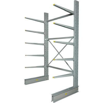 "Cantilever Rack Single Sided Starter Unit Heavy Duty (2000 Series),72""W  x 50""D x 10'H,10300 Lbs Cap"