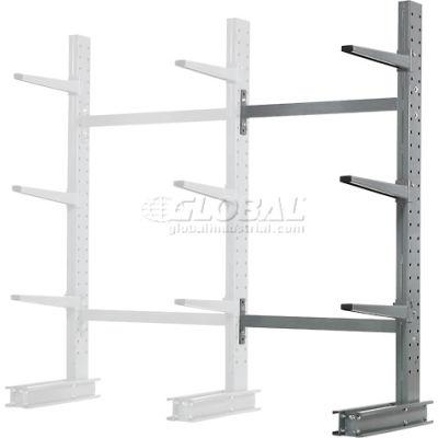 "Cantilever Rack Single Sided Add-On Unit Medium Duty (1000 Series), 48""W  x 33""D x 6'H, 8100 Lbs Cap"