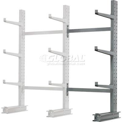 "Cantilever Rack Single Sided, Add-On Unit Medium Duty (1000 Series),48""W  x 33""D x 6'H, 8100 Lbs Cap"